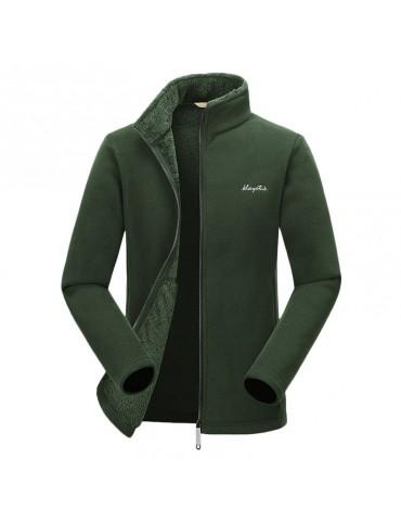 Mens Outerdoor Sportwear Waterproof Jacket Fleece Windbreakers Breathable Sport Jacket Coat
