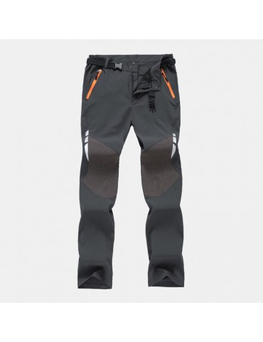 Mens Cool Handsome Wild Outdoor Duick Drying Thin Hiking Pants