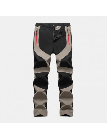 Mens Cool Handsome Outdoor Waterproof Wear-resistant Breathable Hiking Pants