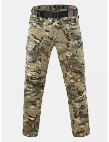 Mens M-5XL Size Quick-dry Camo Cargo Pants Outdoor Tactical Pants Military Pants