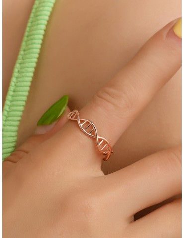 DNA Shaped Ring 1pc