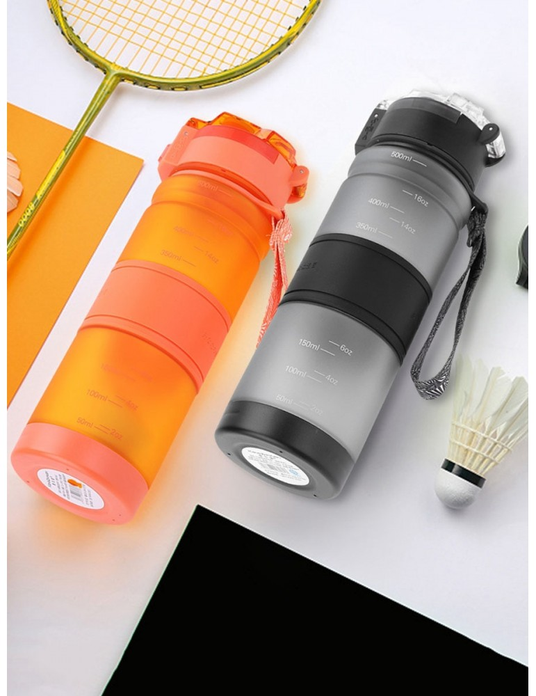 YOSOO Portable Water Bottle Leak-Proof Outdoor Sports Cycling Travel Students Drinking Cup 500ml