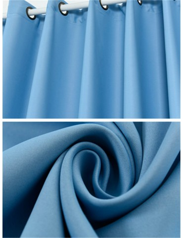 Home Window Curtain Solid Color Thicken Design High Quality Curtain